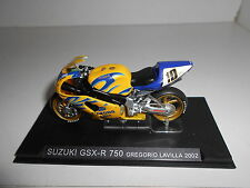SUZUKI GSX-R 750 GREGORIO LAVILLA 2002 BIKE MOTO ALTAYA IXO 1/24