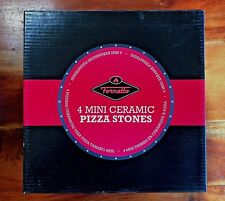 """Fornetto 8"""" Pizza Grilling Stone Set of 4 Retail Price: $59.99"""