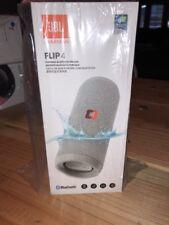 New JBL Flip 4 Waterproof Portable Bluetooth Speaker - Grey