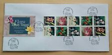 1997 Malaysia Highland Flower Booklet Stamp on Private FDC (Melaka Cachet) Lot A