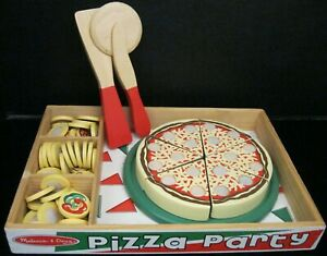MELISSA & DOUG PIZZA PARTY GAME NOT 100% BUT CAN STILL BE PLAYED OR BUY PARTS