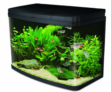 Glass Aquarium Fish Tank Premium Kit with LED Lighting Interpet Insight 64 Litre