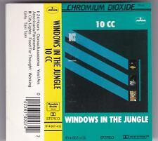 10 CC - WINDOWS IN THE JUNGLE - MC WEST GERMANY MERCURY © 1983 TAPE CASSETTE