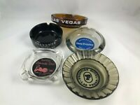 5 Vintage Ashtrays - Elvis Presley - Stardust Hotel - Las Vegas - Hotel Ashtrays