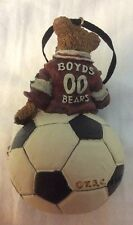 Boyd's Bears Soccer Ornament 25704 Christmas Decoration