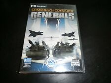 COMMAND AND CONQUER GENERALS  NEW AND SEALED PC CD
