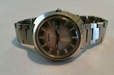 Benrus 17 Jewels Vintage Wind Up Men's  Wrist Watch RUNS