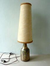 lampe en céramique, en grès scarifié signé Olivier Pettit, vintage années 50-60