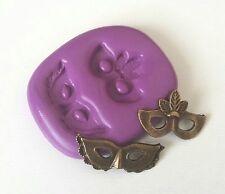 Pequeño máscaras de silicona Molde 27 mm Sugarpaste Glaseado Decoración Pastel Cupcakes fimo