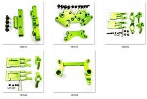Aliuminum Alloy drive shaft Arm for Rc Car 1-18 HBX 18859E 18858E 18857E Green