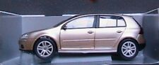 VW VOLKSWAGEN GOLF V 2003 LIGHT GOLD METAL BURAGO 1/18