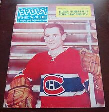 Sport Revue Hockey Magazine April 1962 Bobby Rousseau