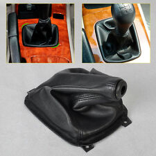 Black PU Leather Gear Boot Gaiter Cover for Hyundai Sonata 1998 1999 2000-2006