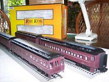 MTH RailKing Pennsylvania 4 car 60' Madison Passenger Set # 30-6964