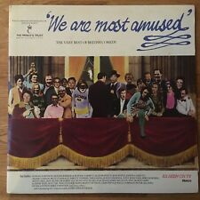 We Are Most Amused: The Very Best Of British Comedy vinyl