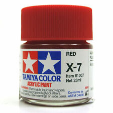 Tamiya 23ml x-7 Acrílico Color Rojo Brilloso 300081007