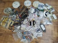 Electronic Component Joblot New Capacitors ICs Diodes Resistor Switches And more