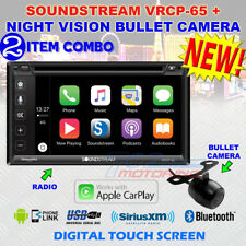 SOUNDSTREAM VRCP65 CD DVD BLUETOOTH iPHONE APPLE CARPLAY COMPARABLE BSS-BVCP9675