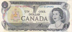 1973 Canada $1 Note, Pick 85c