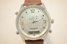 Certus Uhr Herren Armbanduhr Modell 614852 analog - digital Lederband