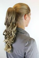 hairpiece plait Light Brown with Blonde Strands Displaced approx. 40cm