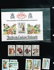 Turks & Caicos Selection all Mint VF Never Hinged - See photos