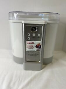 Cuisinart CYM-100 Electronic Yogurt Maker with Automatic Cooling Simple Works