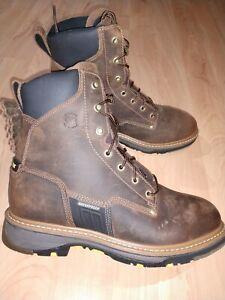 Carolina composite toe waterproof work boots 9.5 D