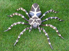 Wooden Spider Carving Wooden Hand Carved & Painted 70cm.....