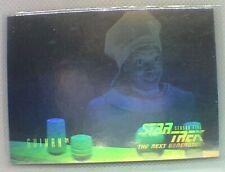 Star Trek The Next Generation Season 5 Hologram Chase Card #9 Guinan