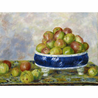 Renoir Apples In A Dish 1883 Painting Huge Wall Art Poster Print