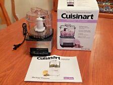 Cuisinart DLC-1SS Mini-Prep Processor Brushed Stainless Steel EUC
