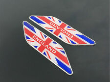 Union Jack UK British Metal Car Truck Fender Sticker Decal Emblem Badge England