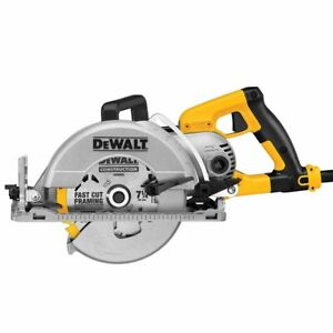 DeWALT DWS535B 7-1/4-Inch Electric Worm Drive Circular Saw w/ Electric Brake