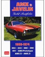Amx/2 Amx/3 Javelin 304 343 360 390 401 Prototype 1968-74 48 Road Test Articles