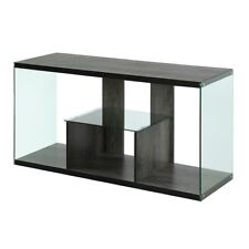 Convenience Concepts SoHo TV Stand, Weathered Gray - 131590WGY