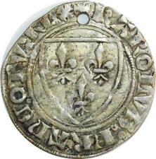O6187 Charles VI 1380-1422 Blanc guénar Argent ->F offre