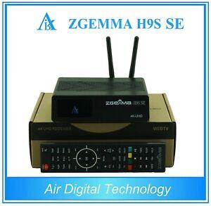 Original Zgemma 2021 H9S SE WIFI 4K UHD IPTV Android Satellite Receiver DVB-S2X
