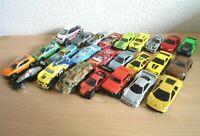 Bundle Of 25x Collectable Diecast Toy Cars Lamborghini Mercedes Porsche Corgi