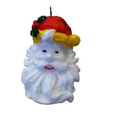 2 x 13cm Santa Clause Christmas Xmas  Wax Candle Candles Home Decoration