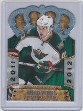11-12 2011-12 CROWN ROYALE WARREN PETERS ROOKIE RC #192 MINNESOTA WILD