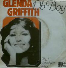 "7"" 60s CV BUDDY HOLLY 1978 VG++! GLENDA GRIFFITH Oh Boy"