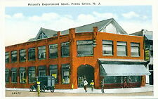 Penns Grove NJ Poland's Dept. Store Old Car 1930 WB