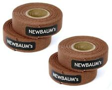 4-Rolls Newbaums Cotton Cloth Road Bike Handlebar Bar Tape Wrap Newbaum's BROWN