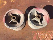 "2 GREENLEE 6"" ? 5"" TUGGER PULLER SHEAVE WHEELS ROLLERS"