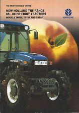 Farm Tractor Brochure - New Holland - TN65F et al - TNF series - c1997 (F5396)