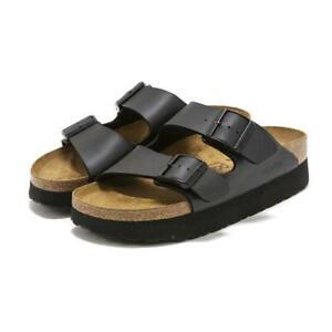 Papillio by Birkenstock Womens Arizona Platform Open Toe Sandals Summer Slides