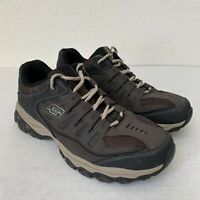 SKECHERS After Burn Shoes Size 10 Men's Memory Foam.