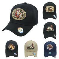 5780f5c6 Cowboy Baseball Cap Rodeo Horse Plain Hat Fashion Casual Caps Solid  Adjustable