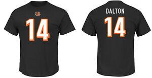 NFL T-Shirt Cincinnati Bengals Andy Dalton 14 Black ER3 Receiver Jersey